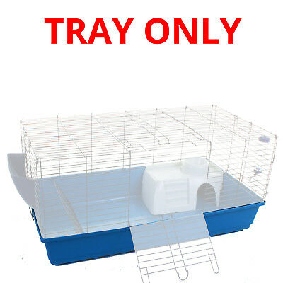 100Cm Rabbit Pet Cage Tray Only Hutch Indoor House Pets Guinea Pig Hamster Rat