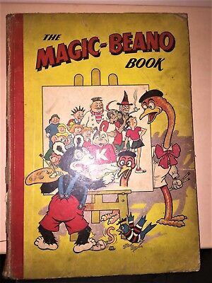 THE MAGIC-BEANO BOOK 1950 Comic Annual (published 1949) Rare