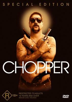 Chopper DVD New and Sealed Australia All Regions