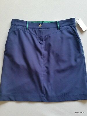 BRAX GOLF Damen Rock Skort blau Mod.Rose Gr. 38--UK12**NEU