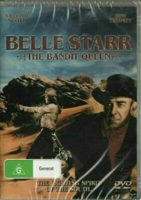 Belle Star The Bandit Queen DVD New and Sealed Australia All Regions
