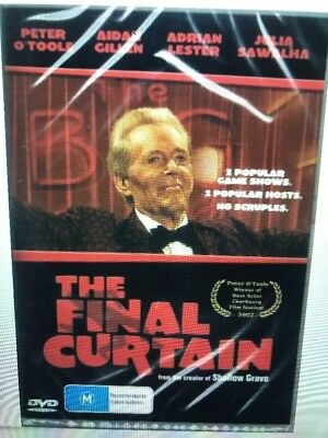 The Final Curtain DVD New and Sealed Australia All Regions
