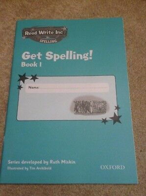 Read Write Inc.: Get Spelling Book 1  X 1 Book by Ruth Miskin (Paperbac…