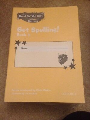 Read Write Inc.: Get Spelling Book 3 X 1 Book By Ruth Miskin (Paperbac…
