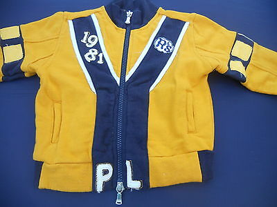 Baby Boys Size 1 Replay & Sons jacket 12mths in Excellent condition
