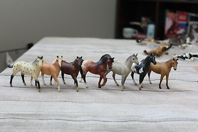 Breyer Stablemate Lot All G1 Quarter Horse, Morgan, etc