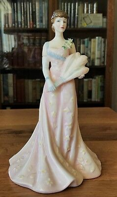 ROYAL DOULTON LILLIE LANGTRY LIMITED EDITION FIGURINE #639/5,000 Excellent, 1995