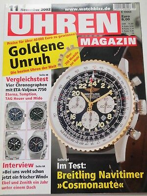 UHREN-MAGAZIN, Nr.11, November 2002