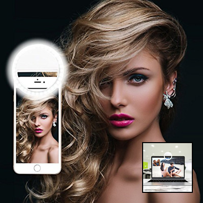 Selfie Ring Light LED Camera W 36 For Phone Photography Video