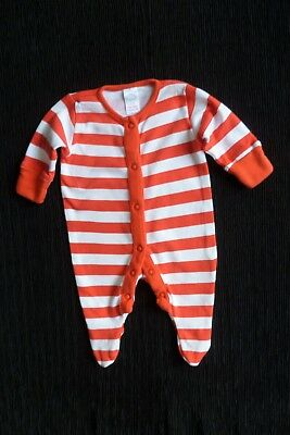 Baby clothes UNISEX BOY GIRL premature/tiny<7.5lb/3.4k NEXT red stripes babygrow