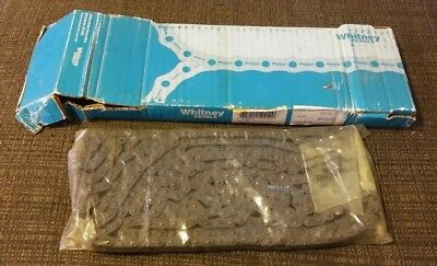 NOS Whitney Renolds 06B-1RIV 10ft Chain 320 Links - Includes Connectors