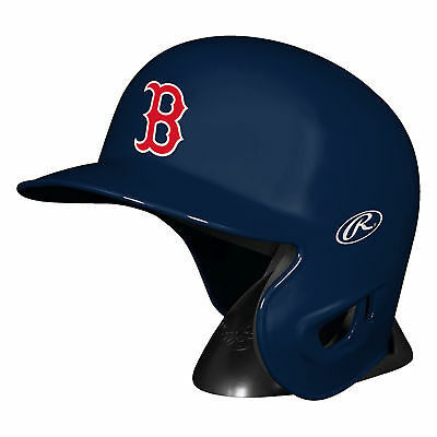 MLB Boston Rot Sox Rawlings Mini Replik Batter Helm Figur Unisex Fanatics