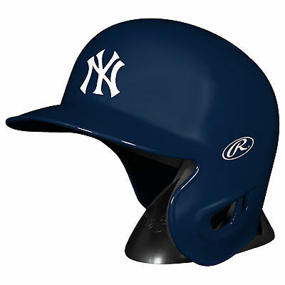 MLB New York Yankees Rawlings Mini Replik Batter Helm Figur Unisex Fanatics