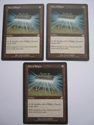 3 x Arc of Blight - Scourge - Magic The Gathering Cards - MTG
