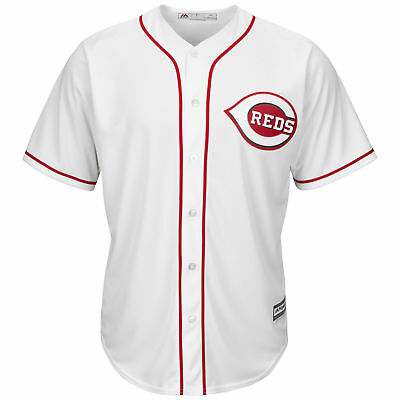 MLB Cincinnati Reds Majestic Replik Cool Base Heim Trikot Sport Shirt Kinder