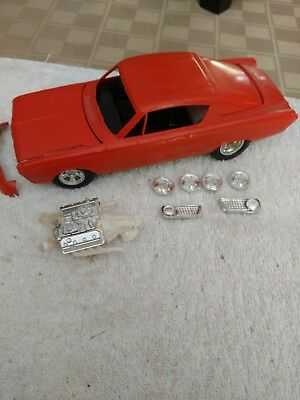1966 Plymouth Barracuda Hemi Original Built Model Kit