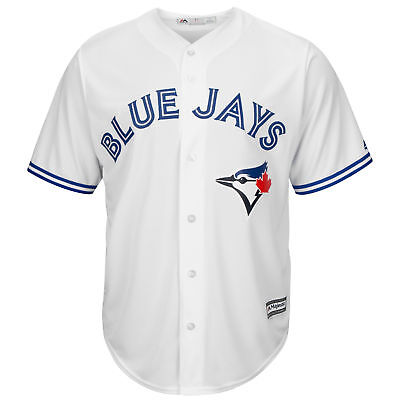 MLB Toronto Blau Jays Majestic Replik Cool Base Heim Trikot Sport Shirt Kinder