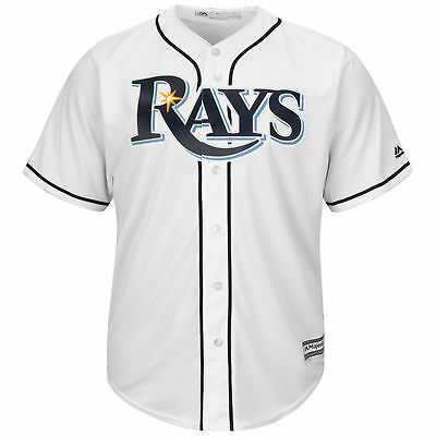MLB Tampa Bay Rays Majestic Replik Cool Base Heim Trikot Sport Shirt Kinder