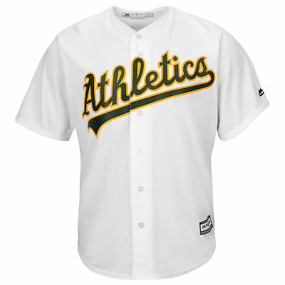 MLB Oakland Athletics Majestic Replik Cool Base Heim Trikot Sport Shirt Kinder