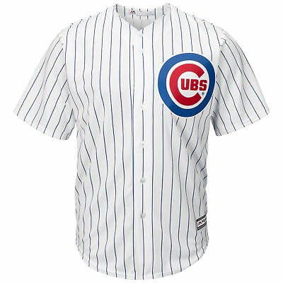 MLB Chicago Cubs Majestic Replik Cool Base Heim Trikot Sport Shirt Top Kinder