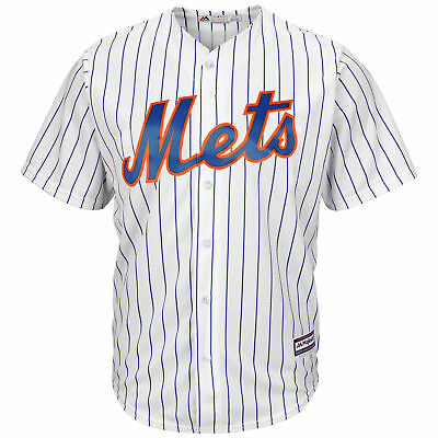 MLB New York Mets Majestic Replik Cool Base Heim Trikot Top Sport Shirt Kinder