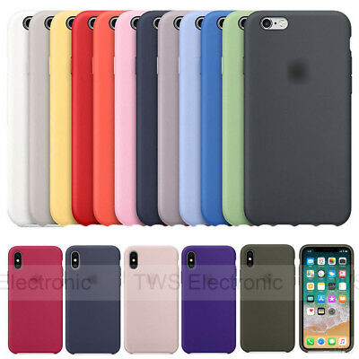 Authentique Coque en silicone étui housse pour Apple iPhone 6/6S/7/78 Plus Boxed