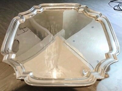 Beautiful Silver Salver Tray. Great condition, ideal collectors item or gift.
