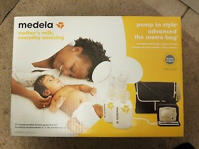 *NEW & SEALED* MEDELA Pump in Style Advanced Double Electric Breast Pump + Bag