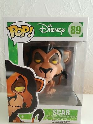 Disney Scar Pop Funko #89 The Lion King, Vaulted, Very Rare