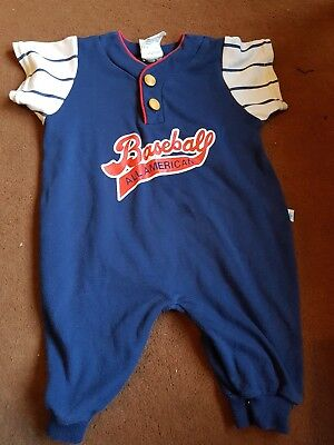 Vintage Retro Unisex Baby Romper All In One 80s 90s