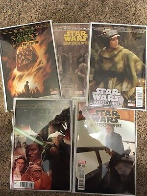 STAR WARS SHATTERED EMPIRE #1-4 Variant Covers Five (5) Comic Lot NM