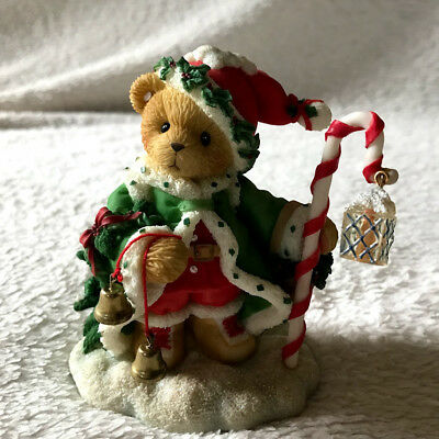"""Cherished Teddies 706701 Wolfgang """"The Spirit Of Christmas Is In Us All"""""""