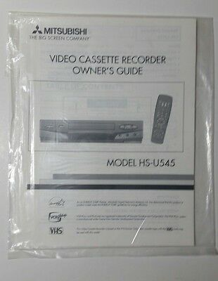 ge video cassette recorder vg 7910 owners manual vhs vcr 10 00 rh picclick com Sanyo VCR Newer GE Universal Remotes