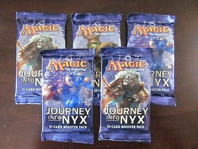 5x Journey Into Nyx Booster Pack (From New Box)
