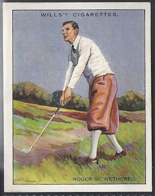 Wills-Famous Golf Ers-#24- Roger Wethered