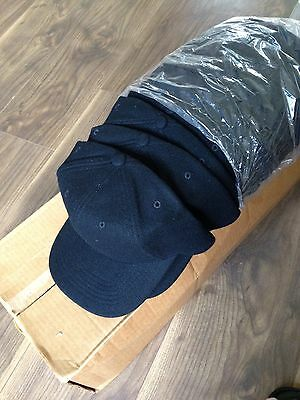Base Ball Caps Black Job Lot 54 Snap Back Adjustable Hats New Wholesale Quality