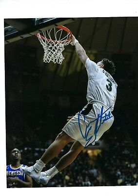 70709a1a0 Carsen Edwards Autographed 8X10 Photo Signed W Coa Proof Purdue  Boilermakers 4