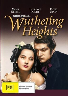 Wuthering Heights DVD New and Sealed Australia All Regions