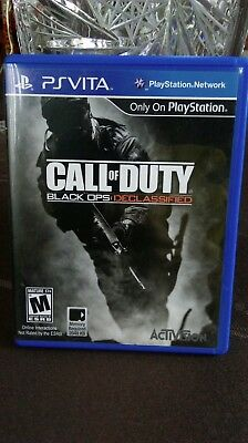 CALL OF DUTY BLACK OPS: DECLASSIFIED PS VITA PLAYSTATION by Activision Awesome!!