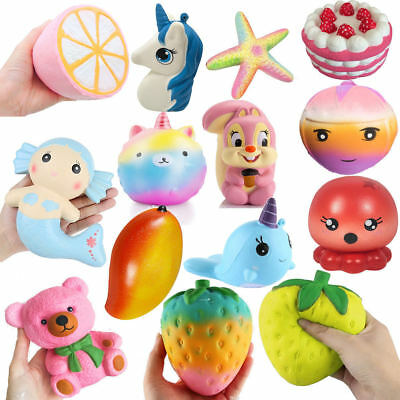 Slow Jumbo Rising Squishies Scented Cute Squishy Squeeze Venting Toy Collections