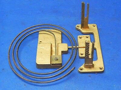 """Antique Vintage Clock Coil Gong Wire Chime - Spring diameter 5-5/8"""""""