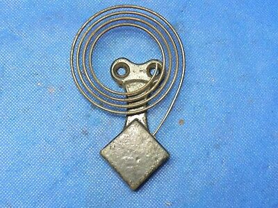 """Antique Vintage Clock Coil Gong Wire Chime - Spring diameter 3"""""""