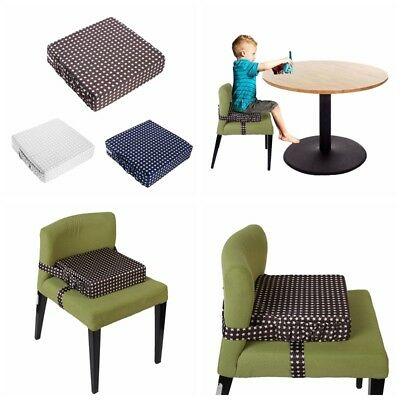 Children Baby Toddler Increased High Chair Seat Pad Safe Booster Dining Cushion