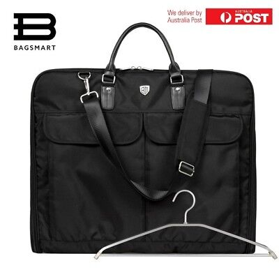 Travel Men Business  Suit Garment Bag Water resistant Nylon w/ pockets Brand new