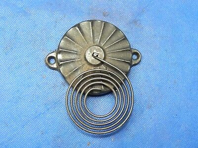 """Antique Vintage Clock Coil Gong Bell Wire Chime - Spring diam. 2.5"""""""