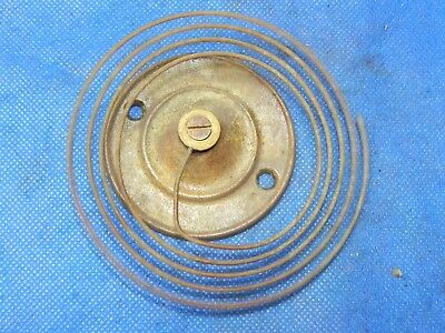 """Antique Vintage Clock Coil Gong Bell Wire Chime - Spring diam. 4"""""""