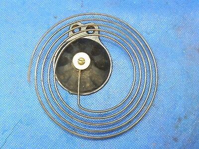 """Antique Vintage Clock Coil Gong Bell Wire Chime - Spring diam. 4.25"""""""