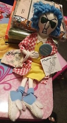 "Shoebox Maxine doll ""Dont worry, be crabby!"""