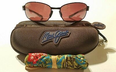 93aed333c25a9 NEW MAUI JIM Salt Air  MJ 741-07 Burgundy Frame