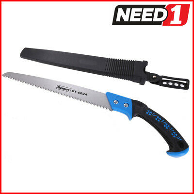 BERENT Pruning Hand Saw With Soft Grip Handle c/w Cover. Packs of 1 & 2